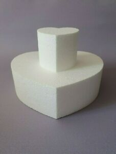 Torte 2-stöckig//2-Set Ø 20//10 x 8 cm Kuchendekoration Dummy Anlass Styropor DIY