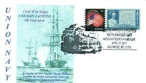 Uss-San-Jacinto-Union-Marina-Guerra-Civile-Trent-Affair-Diplomatica-Crisis
