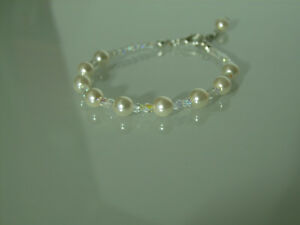 Bracelet Ivoire Cristal p robe de Mariée Mariage Soirée Cérémonie ... f9fc6d1b25c8