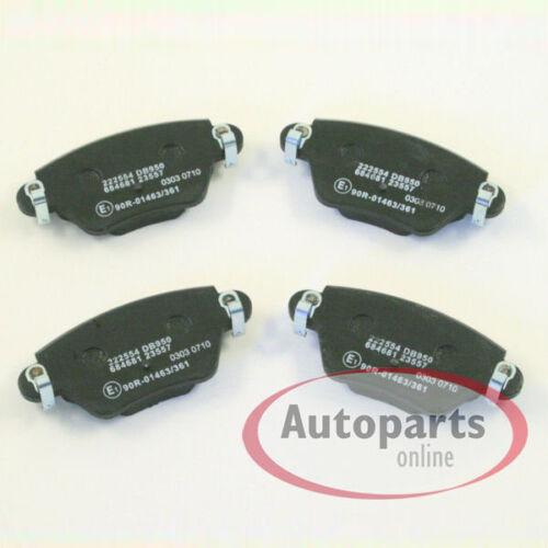 Bremsbeläge Bremsklötze für hinten die Hinterachse Renault Master 2 II 3 III