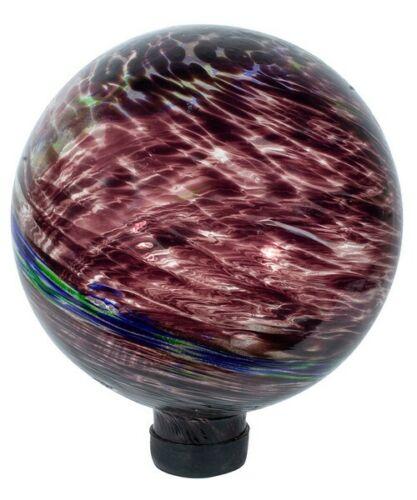 "HAND BLOWN EV8143 Details about  /GLAZING GLOBE 10/"" Plum Illuminarie Globe"