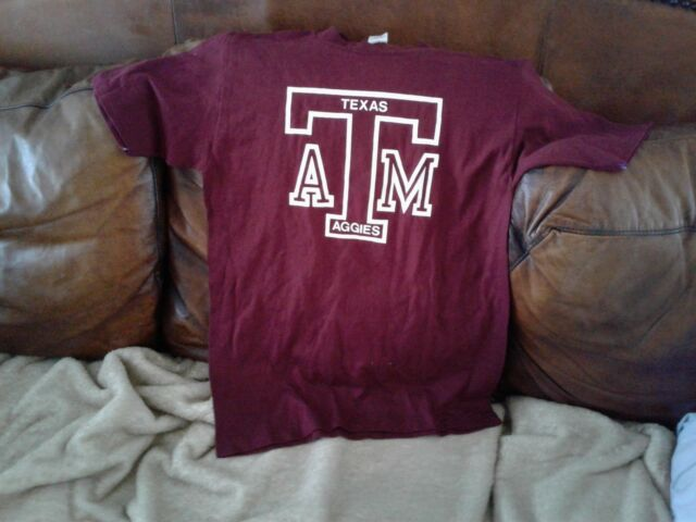 NEW Mens NCAA Texas A/&M Aggies On the Line Climalite Long Sleeve Tee Large Mediu