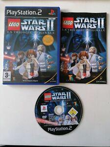 Jeu PS2 LEGO Star wars 2 II La Trilogie Originale Complet FR