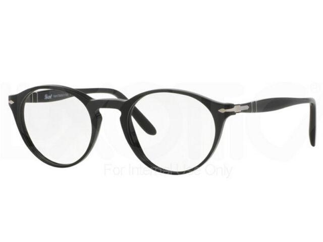 a3ea647578 Original Persol Optical Frames Po3092v 9014 Round Black 50mm Men for ...