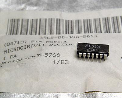 Cerca Voli 6x Motorola Mc512l/mc 512 L, Cdip Mttl Logica, Triple 3-input Gate, Ceramica-dip- Giada Bianca
