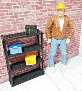 RC-1-10-Scale-Battery-Shelf-Shop-Garage-Rock-Crawler-Doll-House-Accessories-USA
