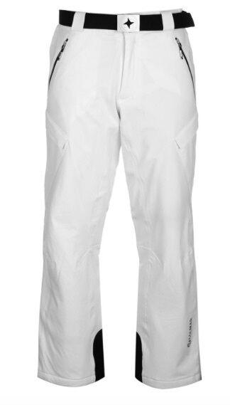 Colmar Uomo Pantaloni da Sci con Cintura Nero Bianco Dimensione 54 XXL o 56 XXXL Neu