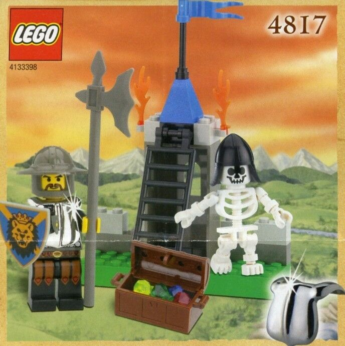 Lego Castle 4817 Dungeon   BRAND NEW  MISB  VERY RARE
