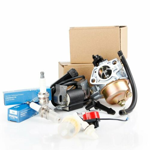 GX340 GX390 Recoil Carburetor Ignition Coil Spark Plug Air Filter For Honda 13HP