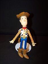 Push Button Collapsing Sheriff Woody Figure Toy Story Pixar Disney Thinkway