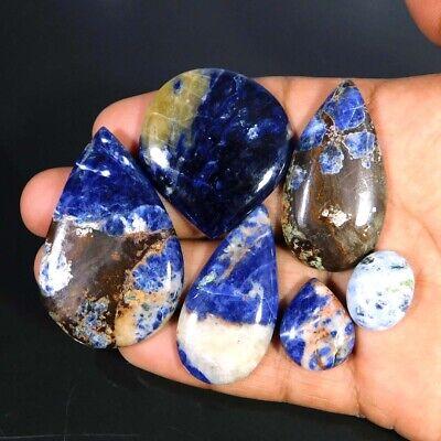 Loose Sodalite Sodalite Jewelry Sodalite Gemstone Gemstones 106.25 Crt 54x35x8 MM sf3380 50/% Off Amazing Natural Sodalite Cabochon