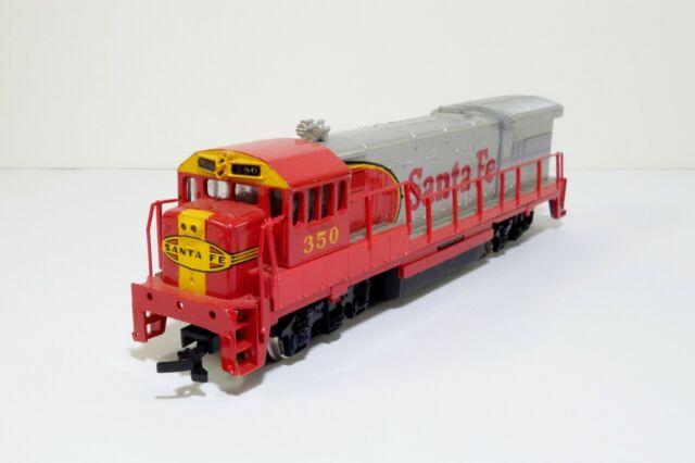 Bachmann Santa Fe Diesel Locomotive #350 HO Scale Train Engine Model #2 Used