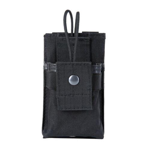 US Tactical Molle Radio Pouch Walkie Talkie Holster Holder Waist Bag Belt Pack