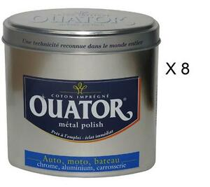 8-OUATOR-INOX-CHROME-COTON-LUSTRER-AUTO-MOTO-BATEAU