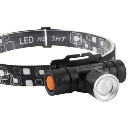30W Micro USB Head Torch Headlamp XM-L2 LED For Fishing Running Hunting 200M