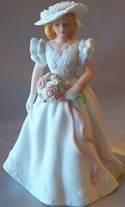 VINTAGE-1986-Avon-Summer-Bride-PORCELAIN-FIGUREINE-6-tall-NEW-IN-BOX-FREE-SHIP
