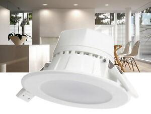 LED 10W Spot Einbaustrahler 230V - Einbauleuchte Decke Einbau Strahler rund weiß
