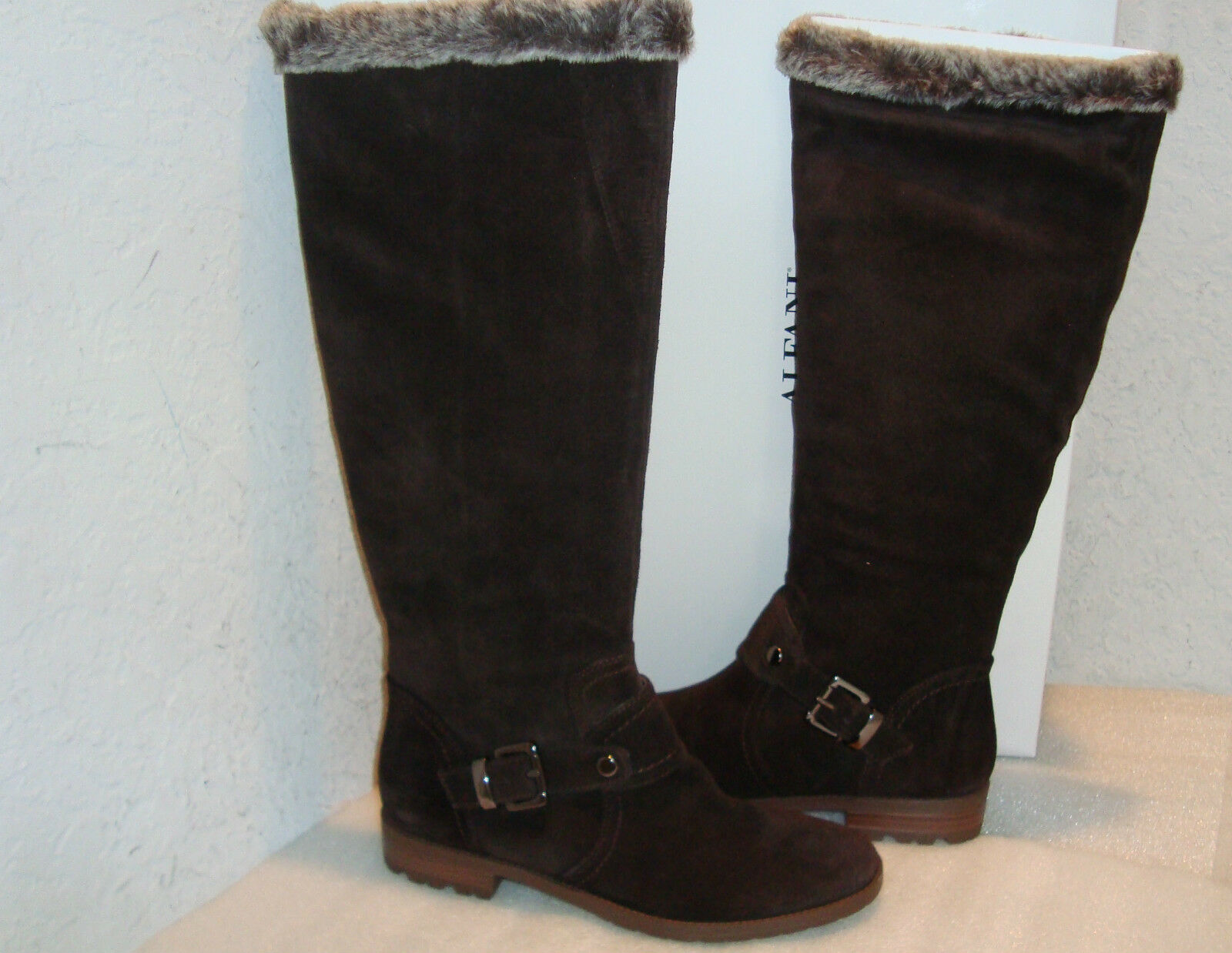 Alfani Damenschuhe NWB Sage Dark Braun Stiefel Schuhes 6 MED NEU
