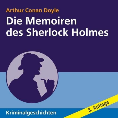 1 von 1 - Die Memoiren des Sherlock Holmes von Arthur Conan Doyle 9 CDs+1 MP3 CD (H595)