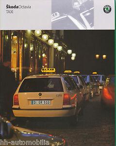 Skoda-Octavia-Taxi-Prospekt-2001-5-01-brochure-Autoprospekt-broschyr-brosjyre