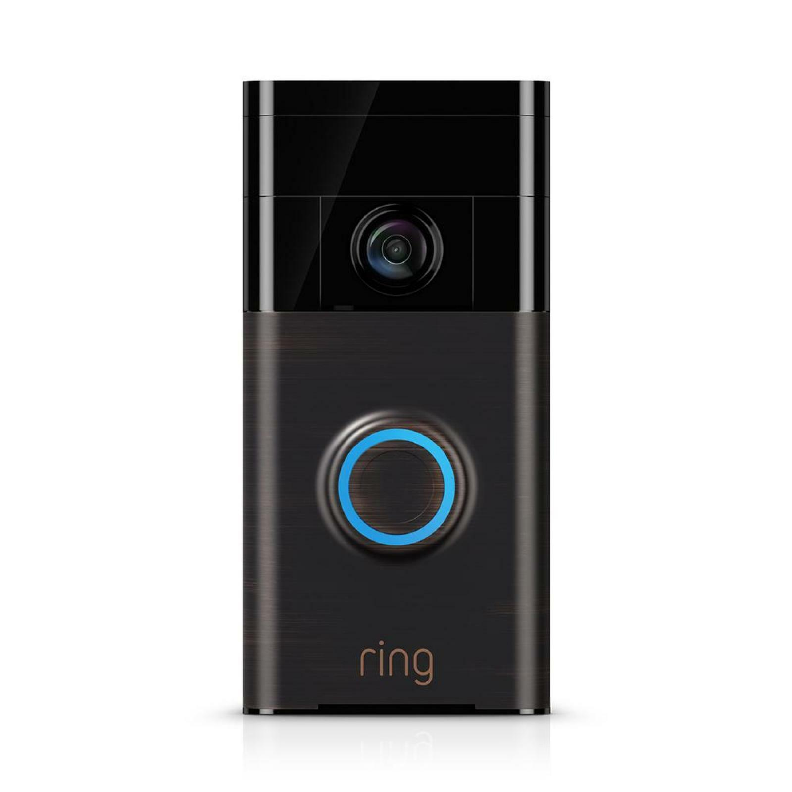 Ring Wireless Video Doorbell Motion Sensor 2 Way Talk Loud Alarm iOS Android App