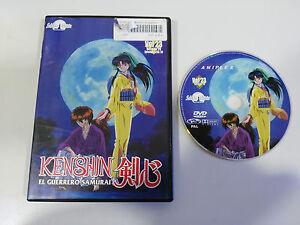KENSHIN-EL-GUERRERO-SAMURAI-DVD-VOL-23-CAP-68-70-EXTRAS-MANGA-SELECTA-VISION