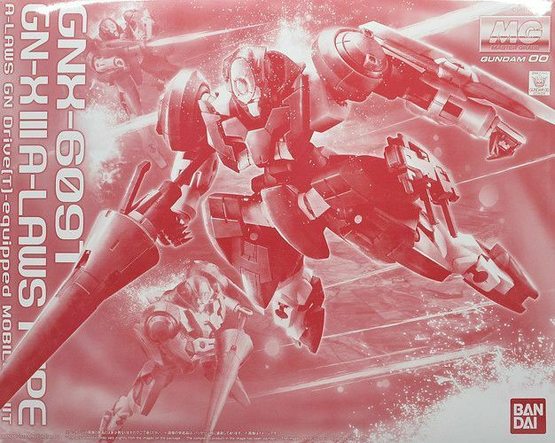 BANDAI MG 1 100 GNX-6091 GN-X III A-LOWS TYPE Plastic Model Kit Gundam 00 NEW