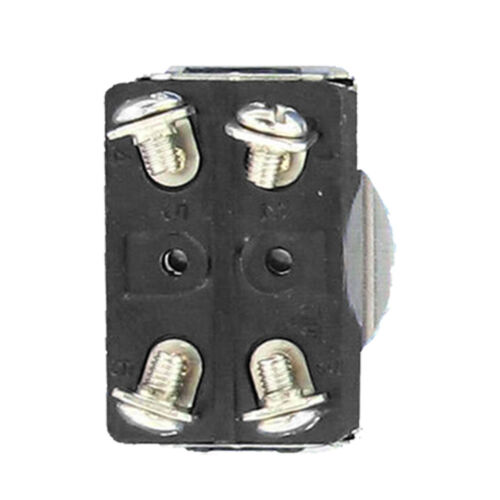 3 X 125V 3A 250V Kippschalter Schalter Wippschalter 4-Polig  EIN//AUS Kappe HY