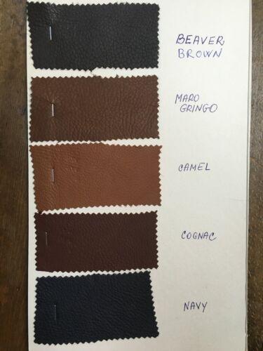 Driving Gloves Deerskin Fingerless Leather Brown Black Half finger Men/'s Gloves