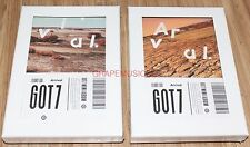 Got7 Flight Log Arrival CD Photobook Photocard Poster Never & Ever Ver.