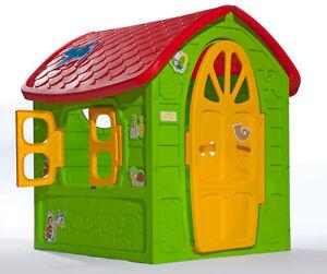 Spielhaus Kinderhaus extra gro? 120x113x111cm bunt (EU Ware) AKTION M?rchenhaus