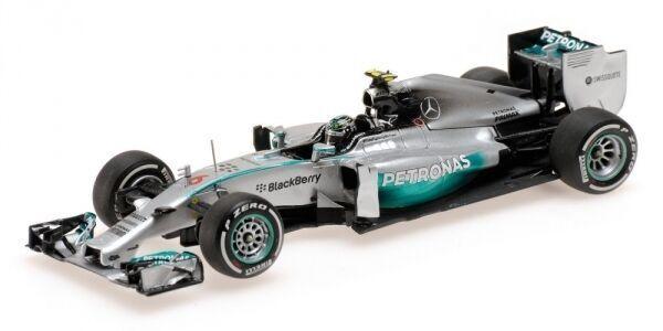 MERCEDES AMG  6 PETRONAS F1 TEAM W05 ROSBERG AUSTALIAN GP WINNER 2014 MINICHAMPS