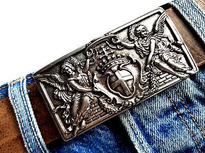 Dinamico Fibbia Cintura Angelo Angels Ornament Argento Di Cambio Cintura Fibbia Buckle 4cm-chließe Buckle 4cm It-it Mostra Il Titolo Originale Merci Di Convenienza