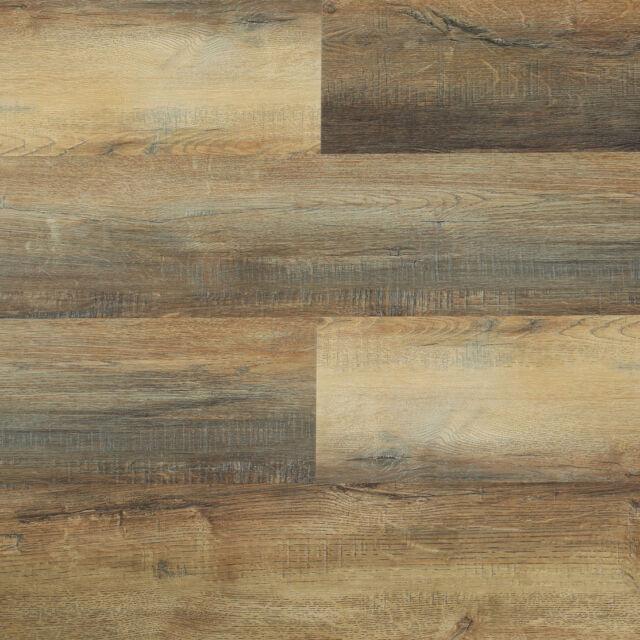 6 5mm Wpc Vinyl Flooring Lesscare Creek Oak Textured Finish