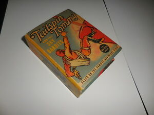 1938-Tailspin-Tommy-and-the-Sky-Bandits-Big-Little-Book-1484-F-VF