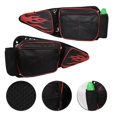 RZR Side Door Bags fits for Polaris RZR XP 1000 900XC S900 Storage Bag with Knee Protection Pad