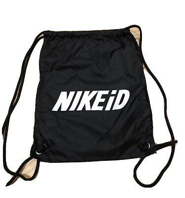 Nike id Bag black Drawstring Sports