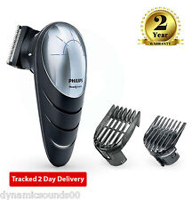 Philips QC5570/13 DIY Easy Reach Hair Clipper with 180° Rotating Head - Black