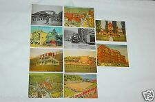 SET OF 10 DIFFERENT NOSTALGIC JOHNSTOWN PA HISTORICAL SITE POSTCARDS UNPOSTED RP