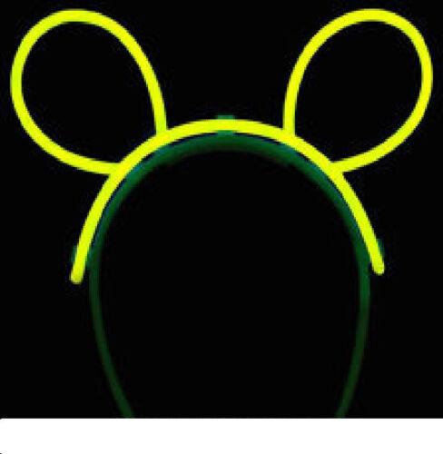 10 per purchase! Multi-Colored Glow Stick Bunny Ears