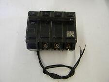 GE THQB 3 Pole 60 Amp Shunt Trip Bolt On Circuit Breaker TQSTA1 Shunt  B3