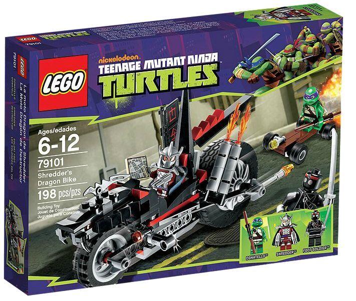 LEGO ® Teenage Mutant Ninja Turtles 79101 Shrougeder's Dragon Bike NEW En parfait état, dans sa boîte scellée Boîte d'origine jamais ouverte