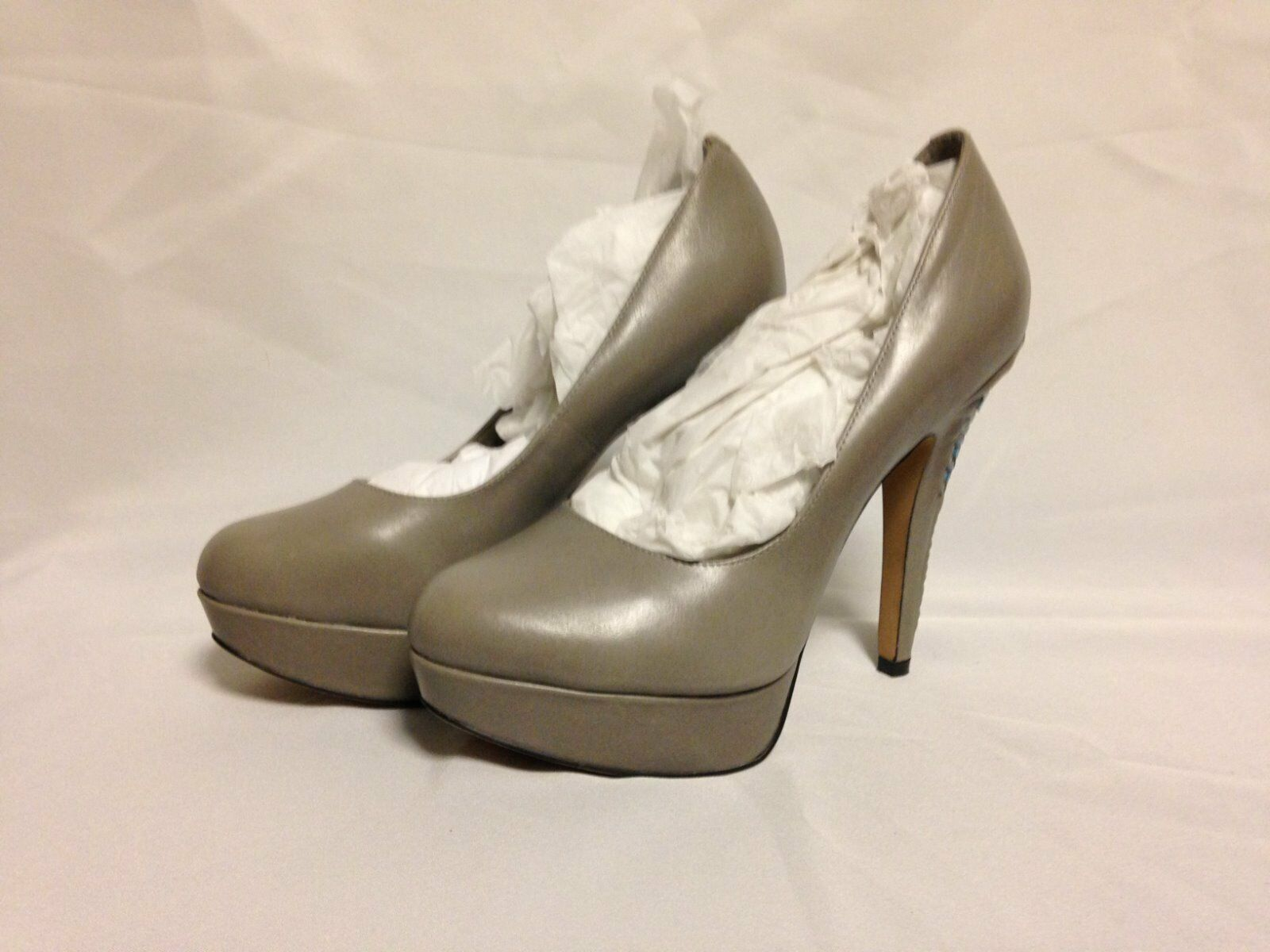 Vince Camuto Maari High Heel Pump 7.5 M Marble Palace bluee New w Box