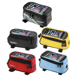 Cycling-Bike-Front-Top-Frame-Pannier-Tube-Bag-Case-Pouch-for-Cell-Phone-MG