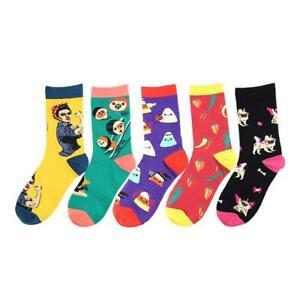 Mens-Womens-Harajuku-Food-Animal-Creative-Sock-Novelty-Funny-Sporting-Socks-Top