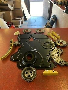 FORD-TRANSIT-TIMING-CHAIN-KIT-amp-FRONT-COVER-2-4-90-115-125-RWD-MK6-00-06-NEW