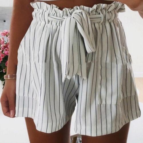 Damen Sommer Shorts Sportshorts Hüfthose Freizethose Strandhose Party Hotpants