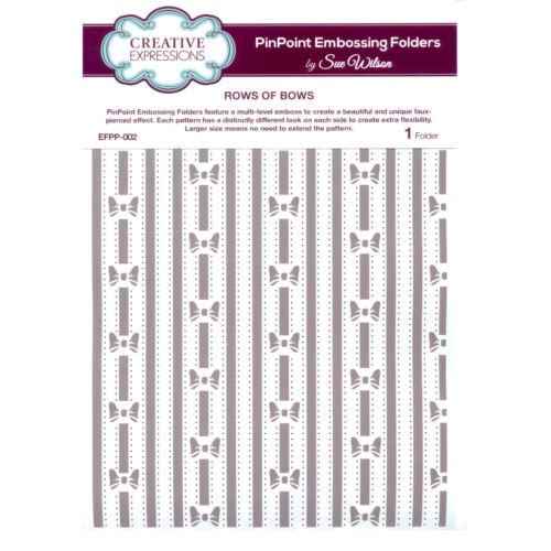 002-filas de arcos Sue Wilson indicar Carpeta de grabación en relieve efpp
