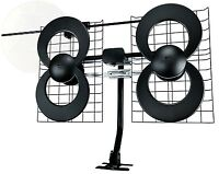 Clearstream 4v Indoor/outdoor Hdtv Antenna With Mount 70 Mile Range