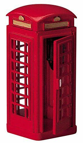 New Lemax Figurines  Telephone Booth # 44176 Polyresin New 2018